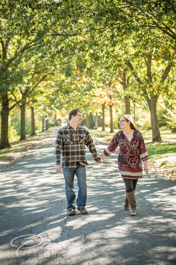 nj botanical gardens engagement