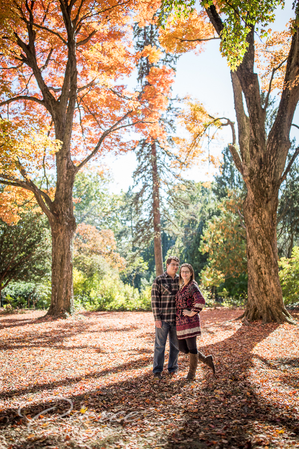 ringwood nj botanical gardens engagement