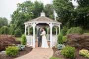 barnyard carriage wedding